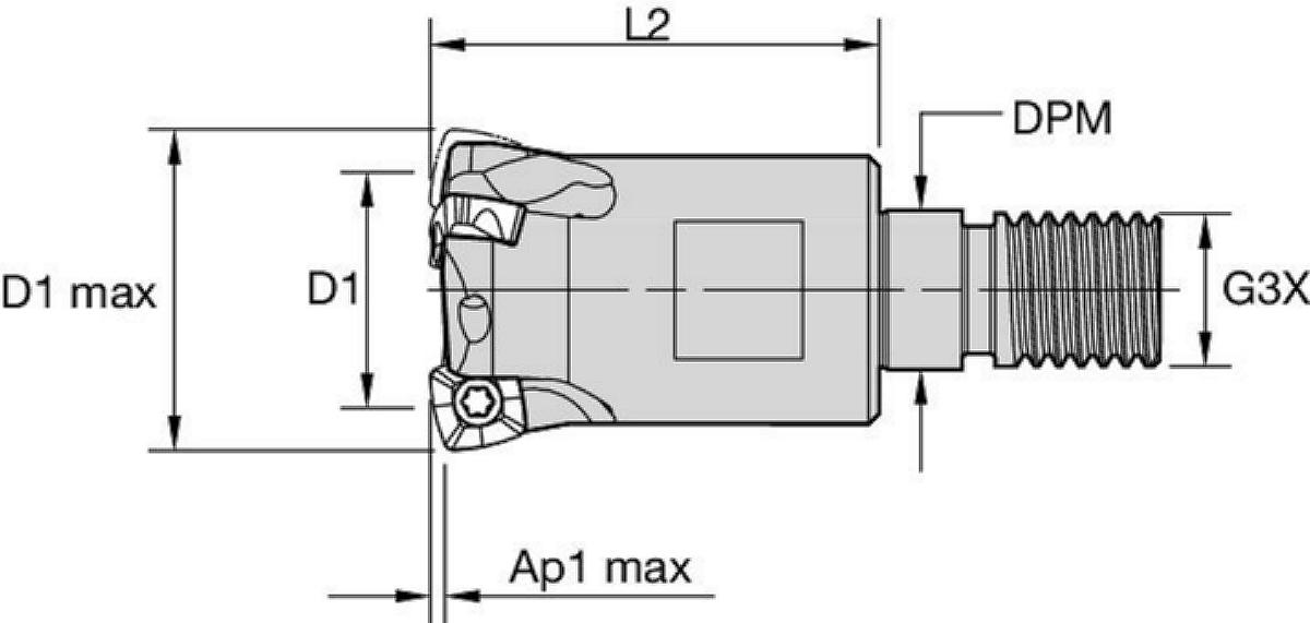 High-Feed Milling Cutters