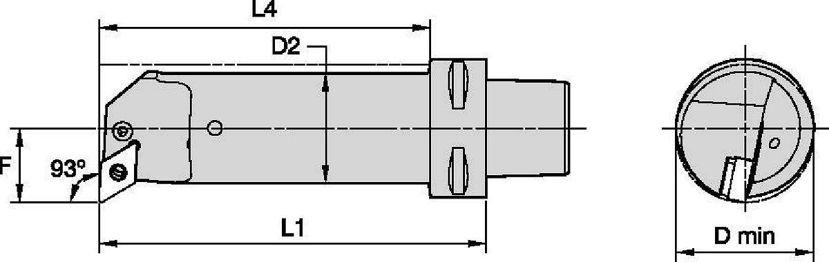 Internal Cutting Units • P-Clamping