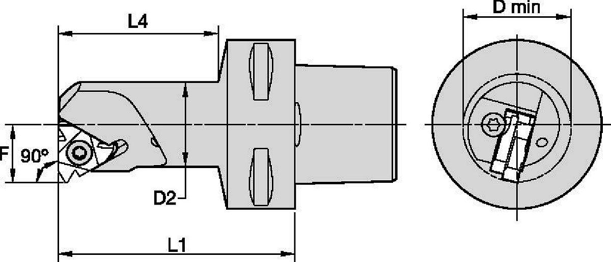 Internal Cutting Units • Laydown Threading