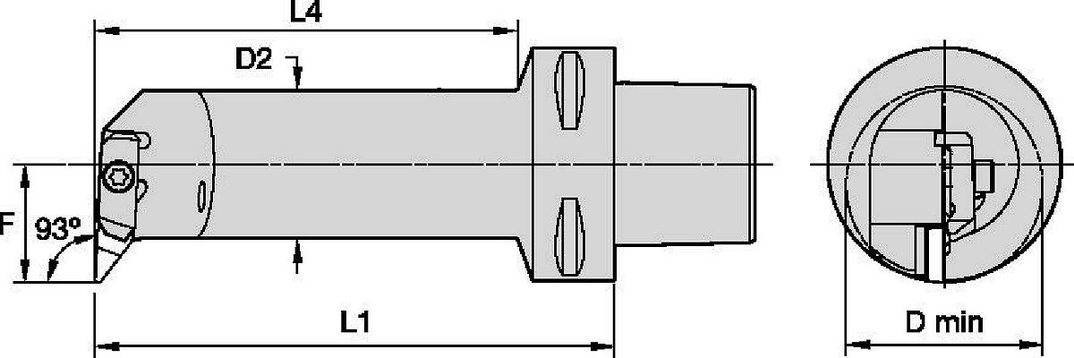 Internal Cutting Units • Top Thread™ and Top Groove™ Profiling