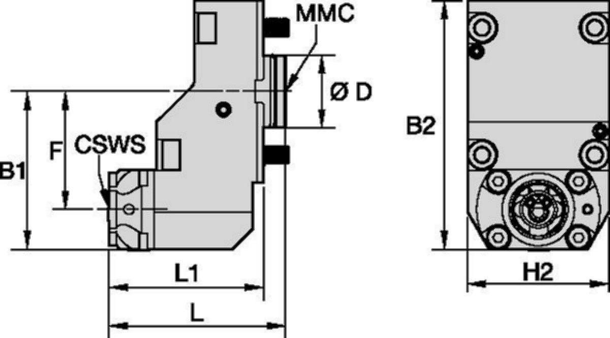 DMG Mori • Statisch Axial • KM™ • MMC 001