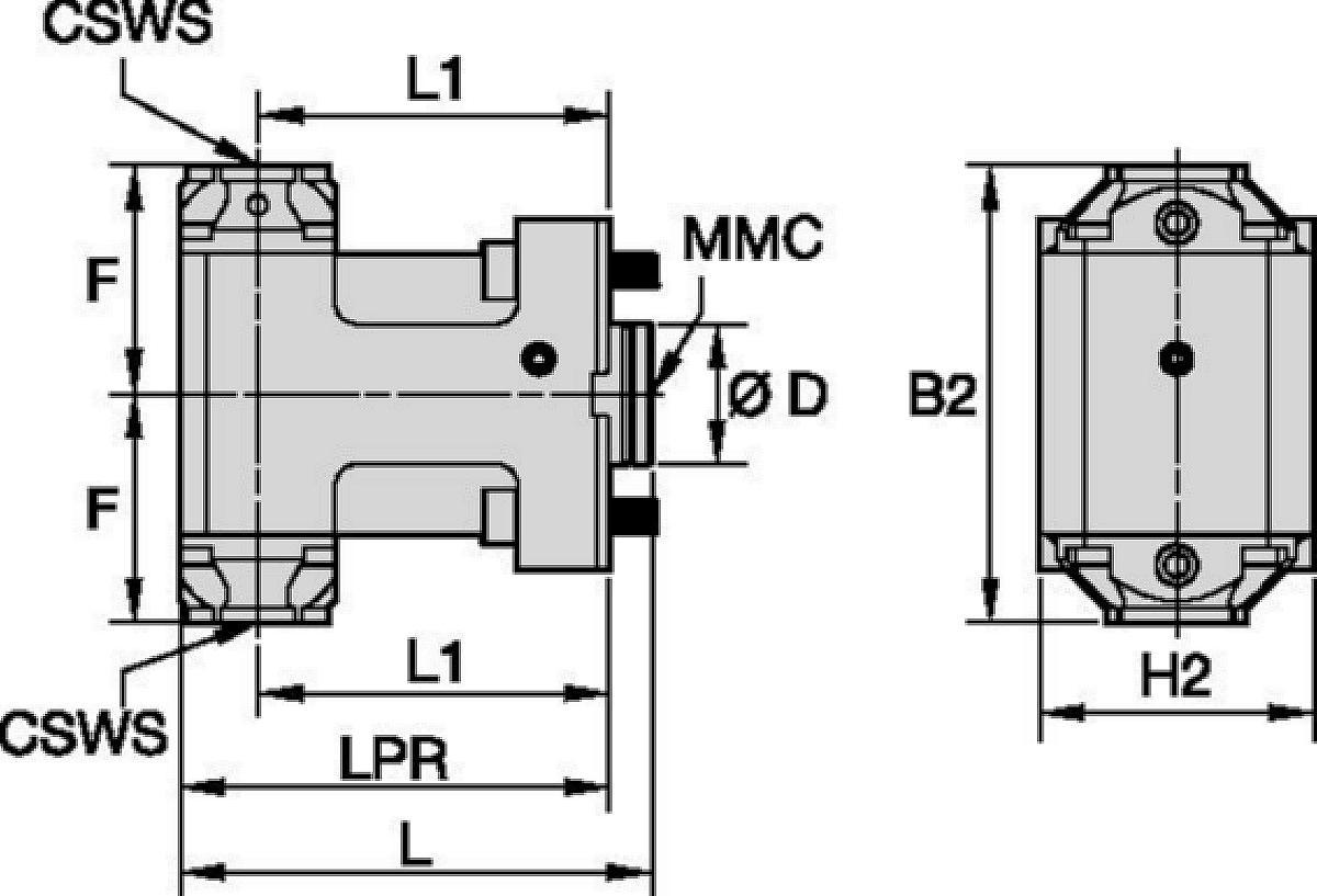 DMG Mori • Herramienta estática radial • KM™ • MMC 001