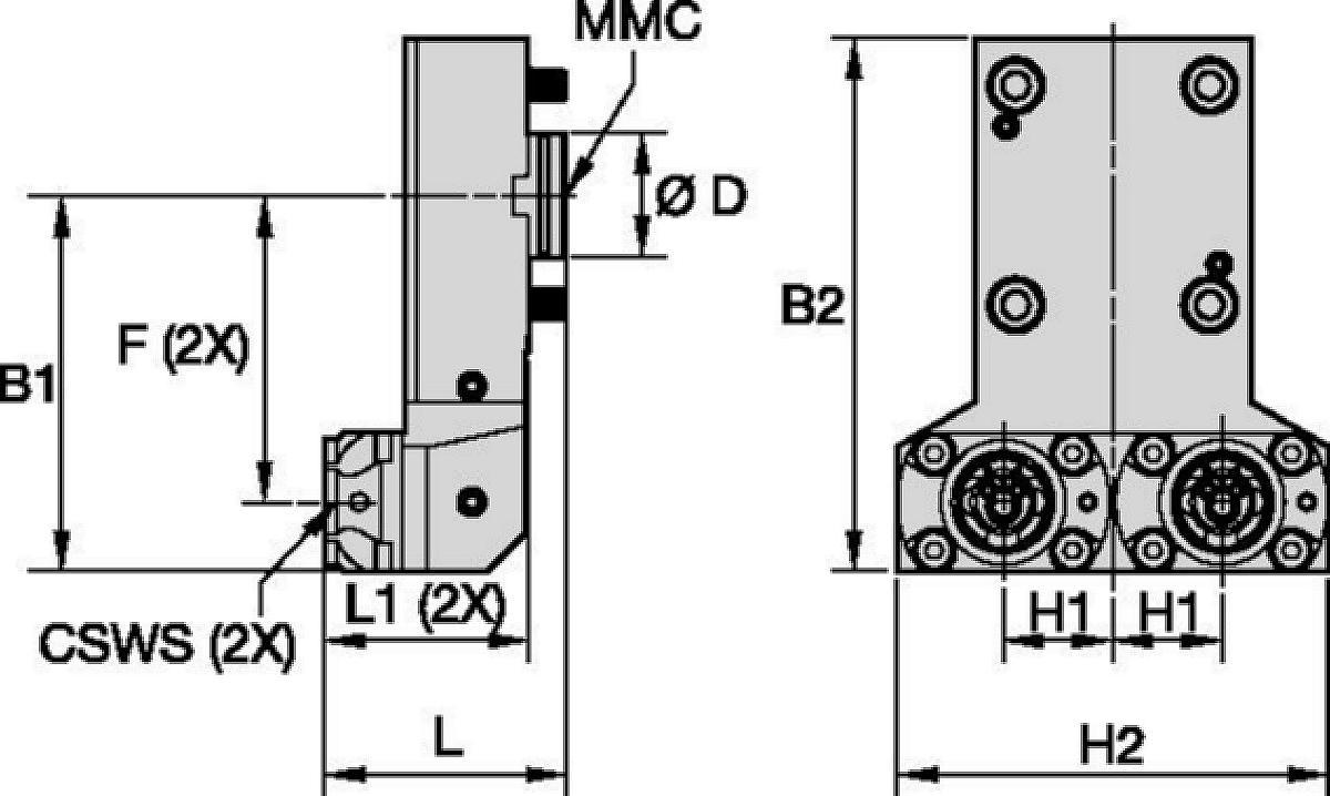 DMG Mori • Herramienta estática axial • KM™ • MMC 001