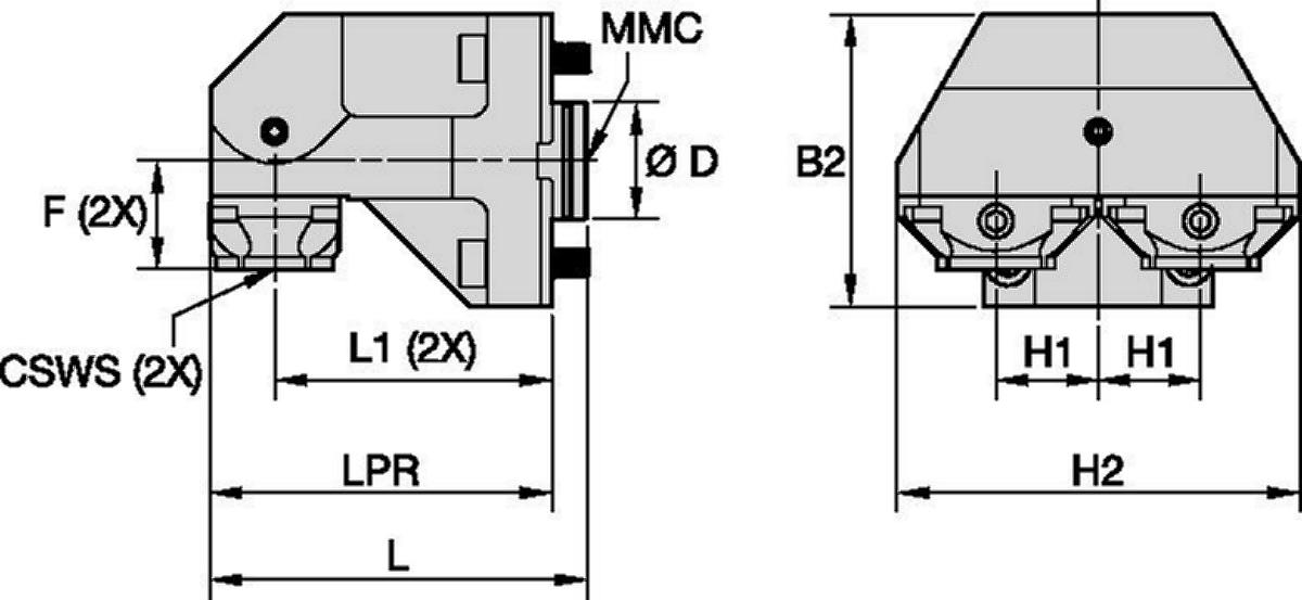 DMG Mori • Statisch Radial • KM™ • MMC 001
