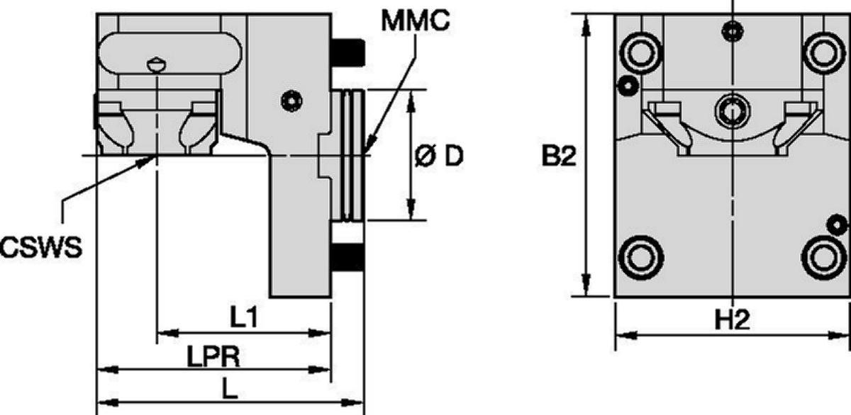 DMG Mori • Static Tool Radial • KM™ • MMC 002