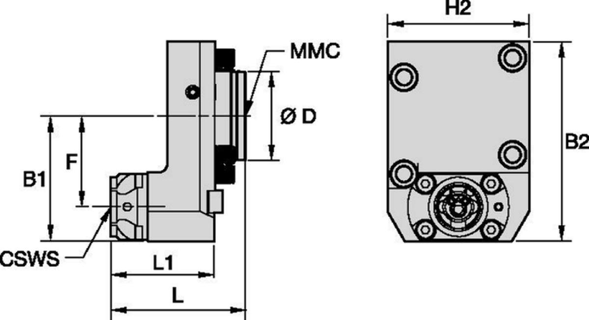 Okuma™ • Herramienta estática axial • KM™ • MMC 009
