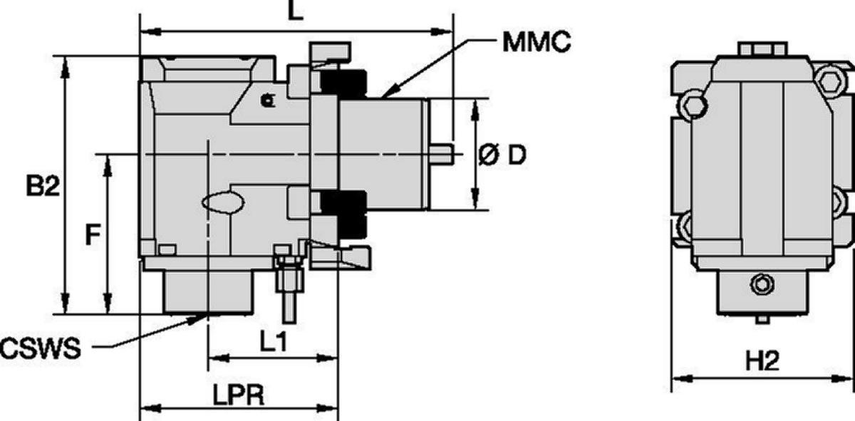 Okuma™ • Herramienta a motor radial • KM™ • MMC 009