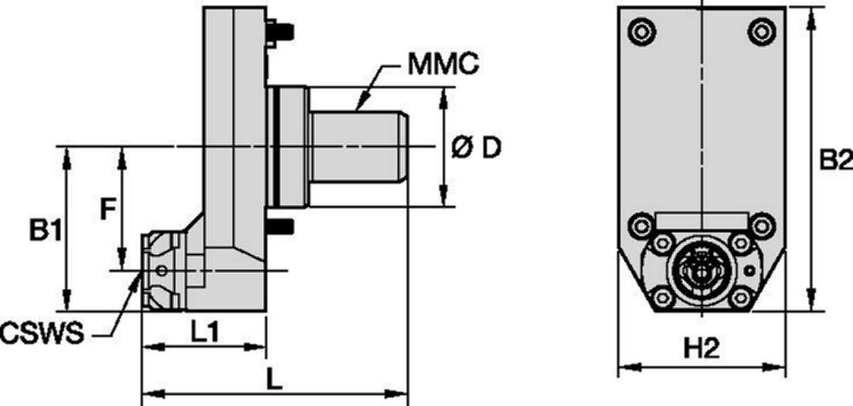 Mazak™ • Statisch Axial • KM™ • MMC 020
