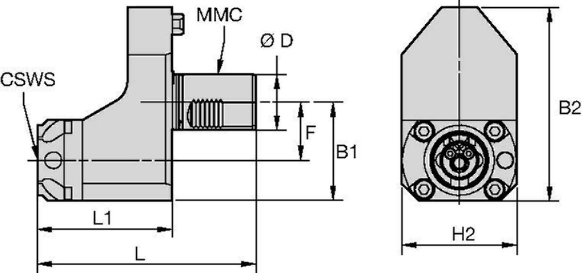 Mazak™ • Statisch Axial • KM™ • MMC 018