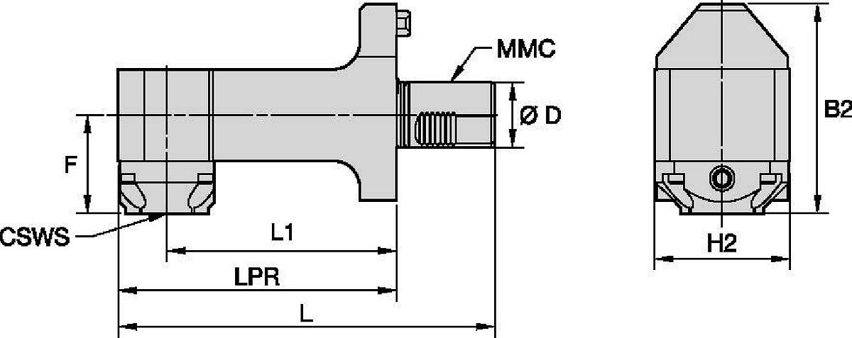 Mazak™ • Statisch Radial • KM™ • MMC 018