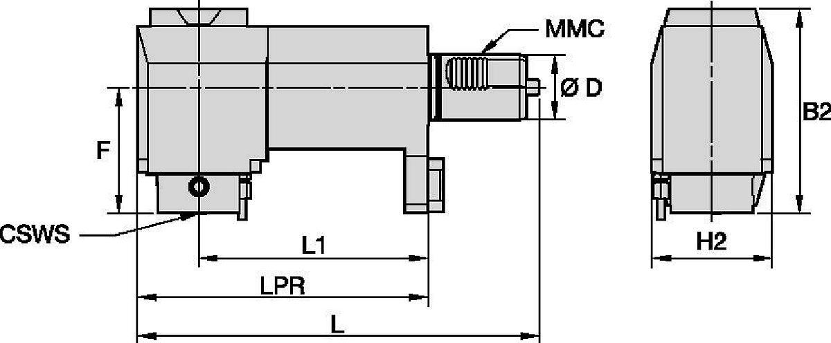 Mazak™ • Angetrieben Radial • KM™ • MMC 019