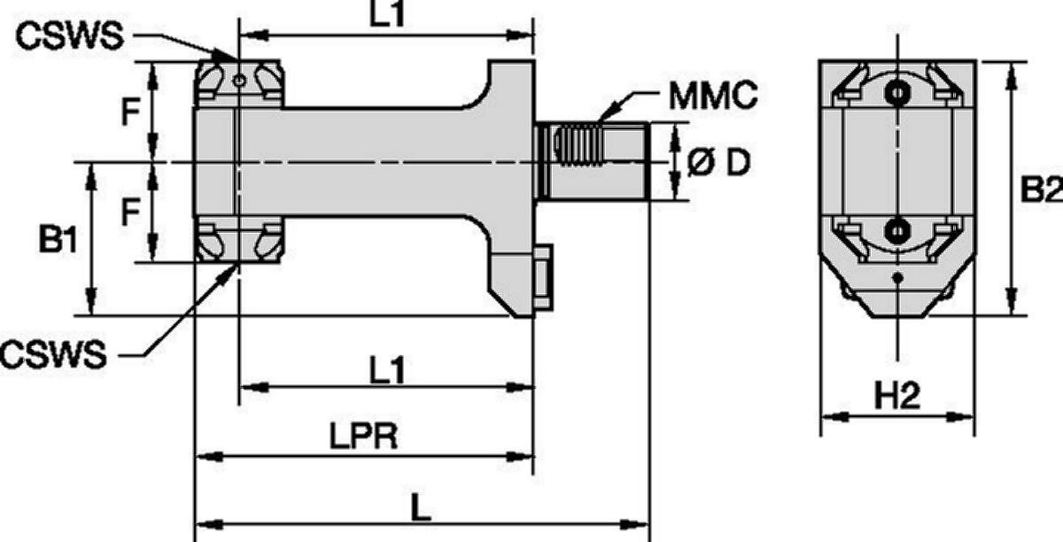 Mazak™ • Statisch Radial • KM™ • MMC 019