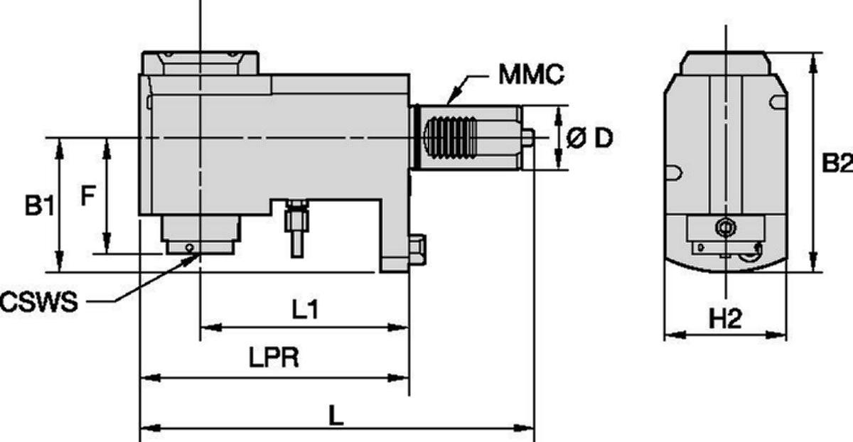 Mazak™ • Angetrieben Radial • KM™ • MMC 017