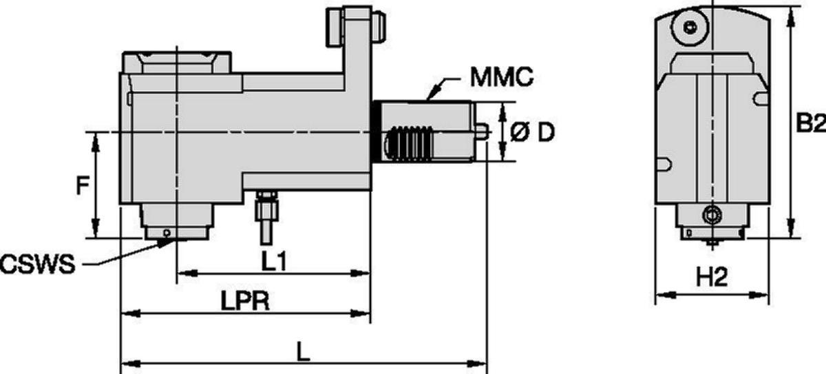 Mazak™ • Angetrieben Radial • KM™ • MMC 016