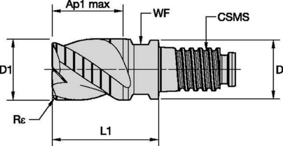 Duo-Lock™ • RFDD • 3 Flutes