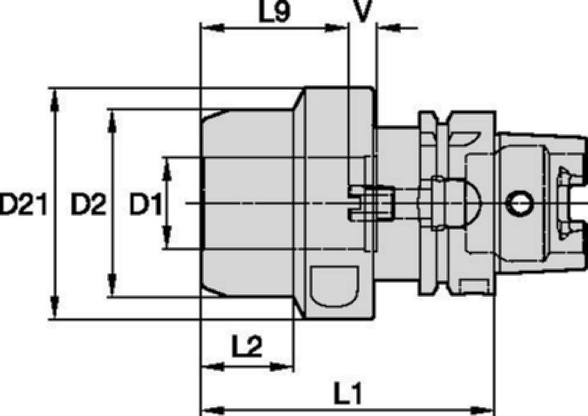 HydroForce™ High-Torque Line • HSK A