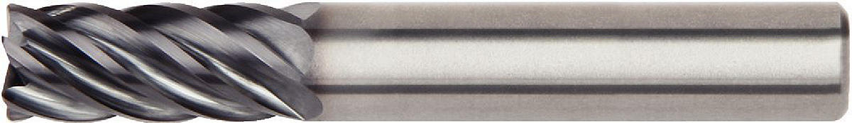 HARVI III • 6 Flutes • Highest productivity for cutting Titanium and other materials • Cylindrical Shank