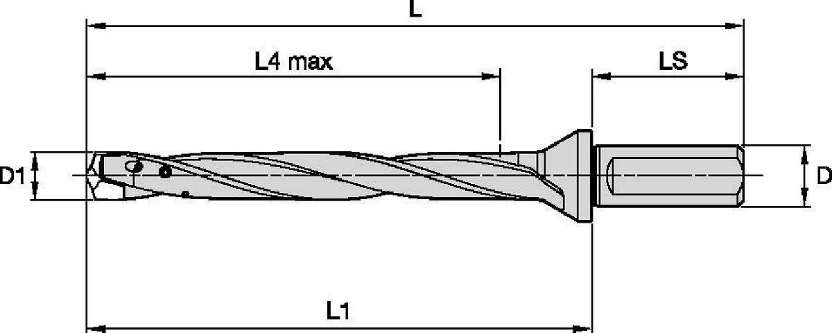 TDMX • 8 x D • Side Lock Shank • Inch