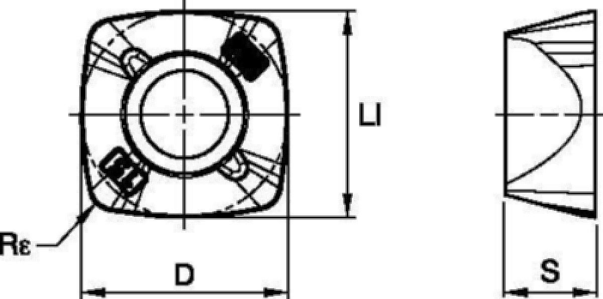 Inserts • XDPT-MH • Dedicated Geometry for Heavy Roughing