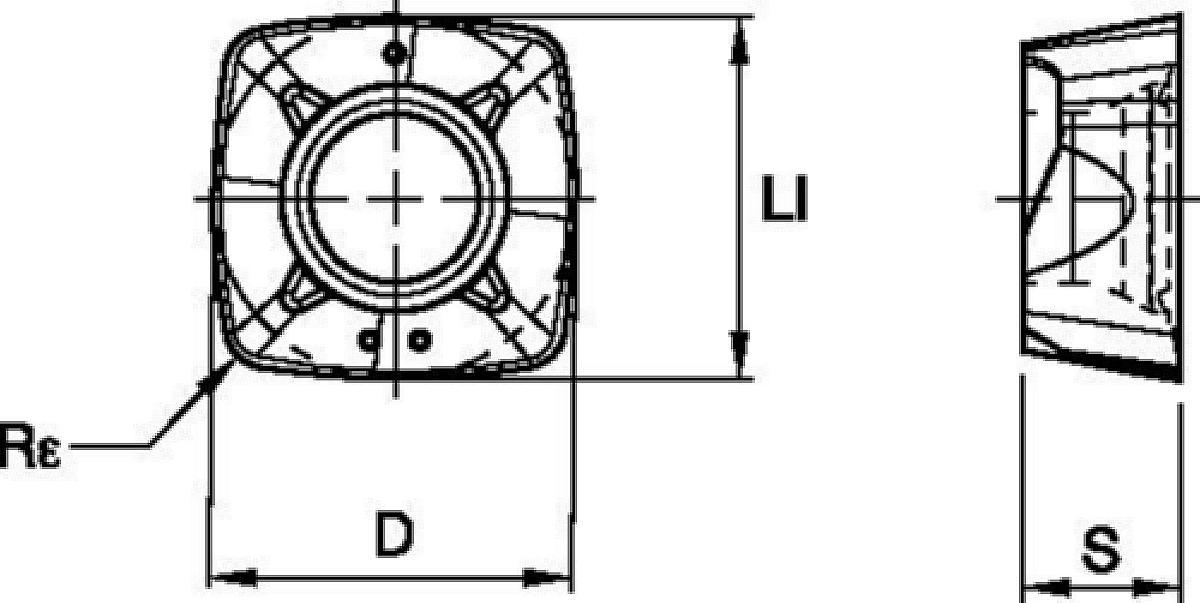 XPPT-MM • ideal geeignet für Taschen- und Profilfräsbearbeitungen