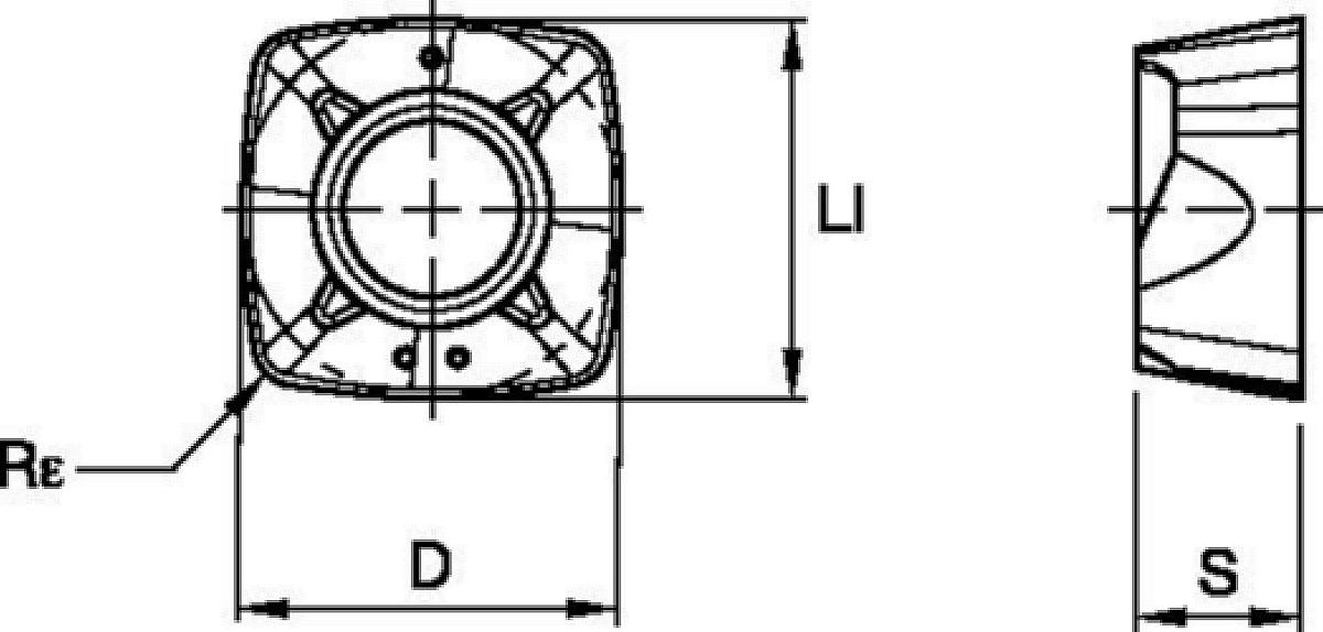 Inserts • XPPW-MH • Dedicated Geometry for Heavy Roughing