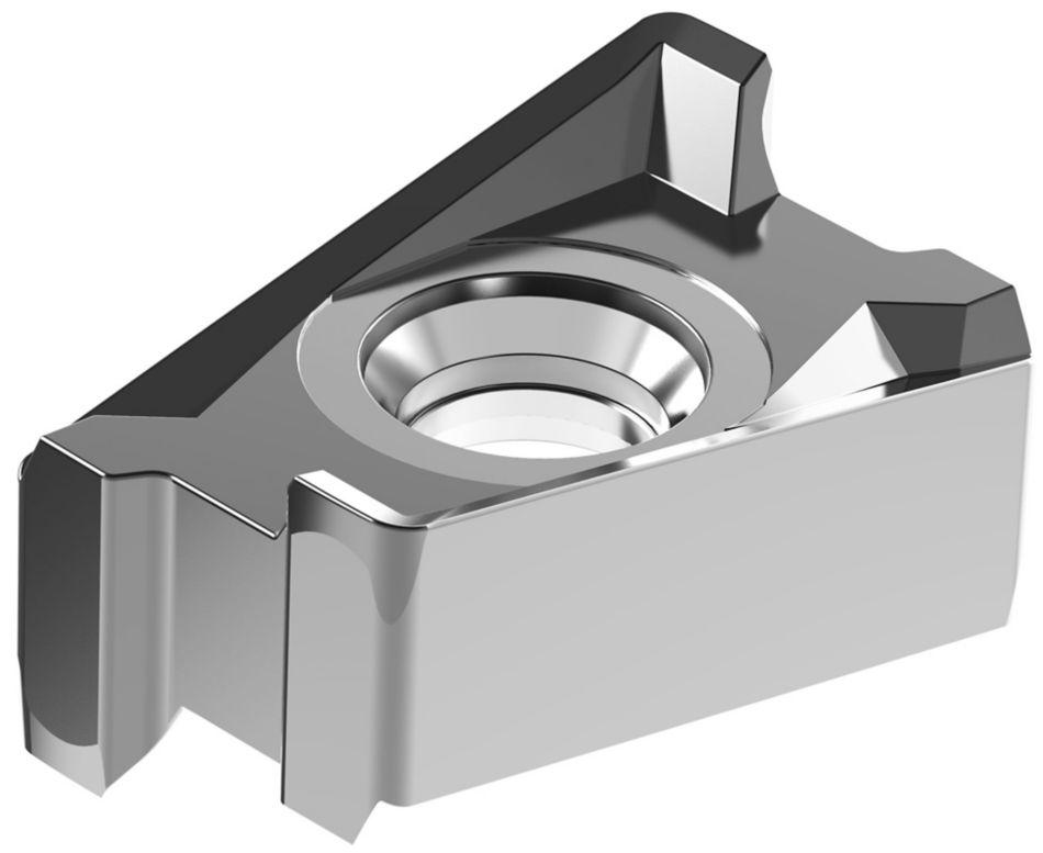 Plaquitas para Mill 4-15™ • LNGU15-EGE • Rectificado de precisión • Para acero inoxidable y aleaciones de alta temperatura