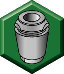 ER Solid Collet