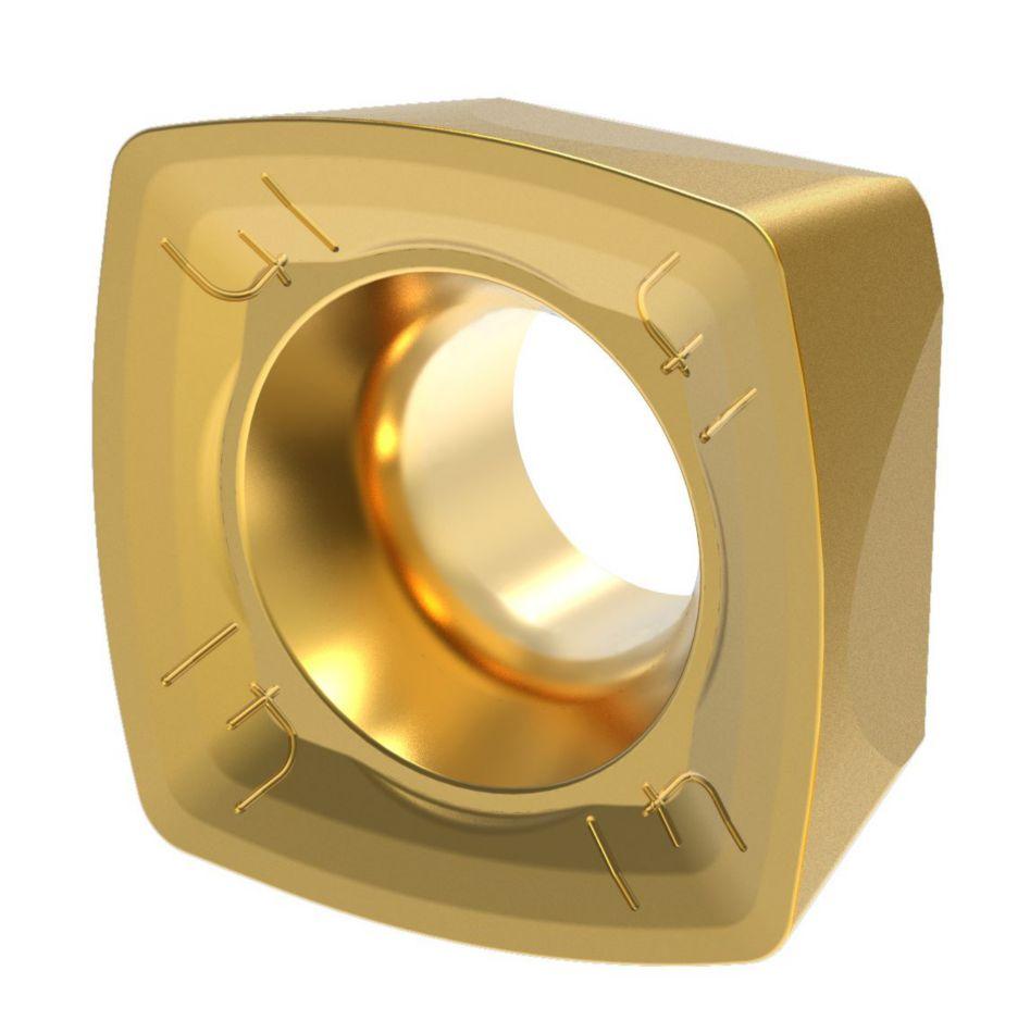 XDLT09-D41 • 软钢材料的通用加工端面铣及槽铣加工的最佳选择。
