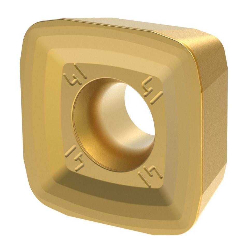 XDLT12-D41 • 软钢材料的通用加工端面铣及槽铣加工的最佳选择。