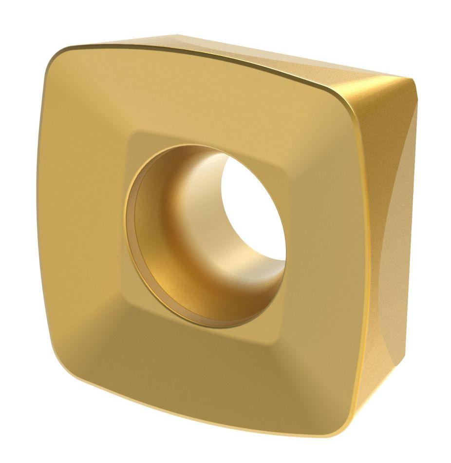 XDPT12-GP • 精密压制刀片,降低单位切削刃成本。用于合金钢材料的通用加工。在各种加工条件中有极好的平衡性。