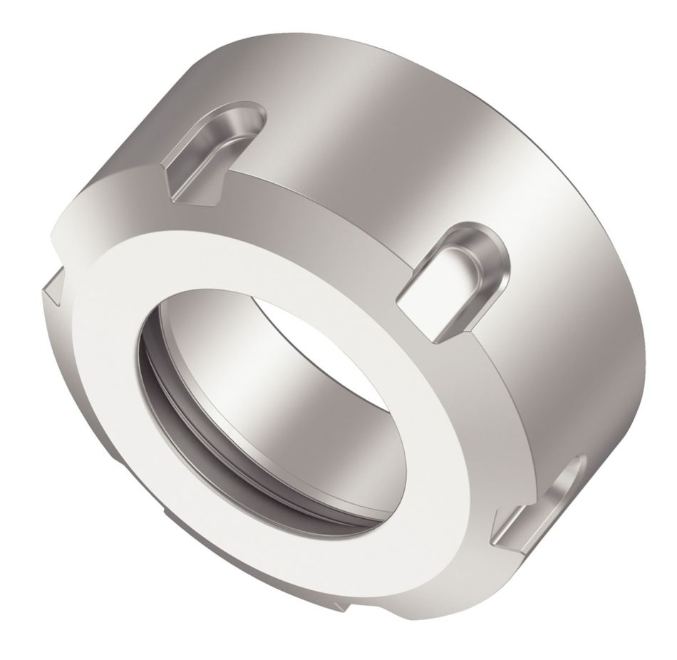 ER25 SOLID LOCK NUT