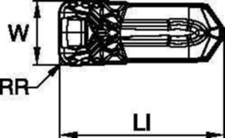 Schneidkörper zum Einstechdrehen • PT präzisionsgepresst • Metrisch