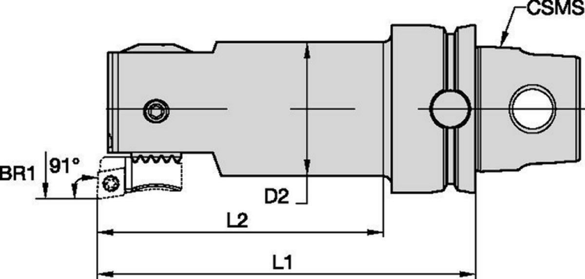 eBore™ Fine Boring • Cutting Unit • KM™