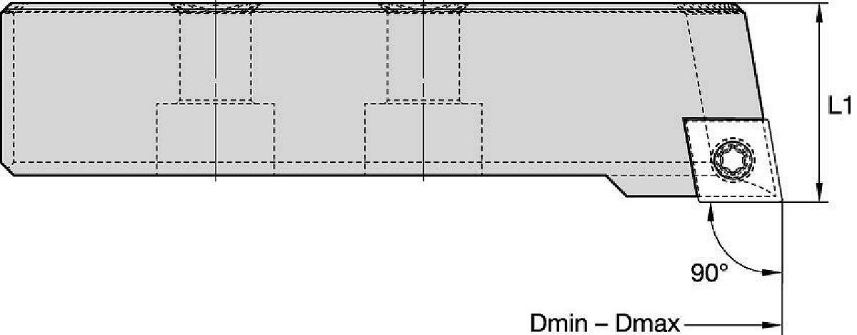 eBore™ • Bridge S/L • Insert Holder • CC12