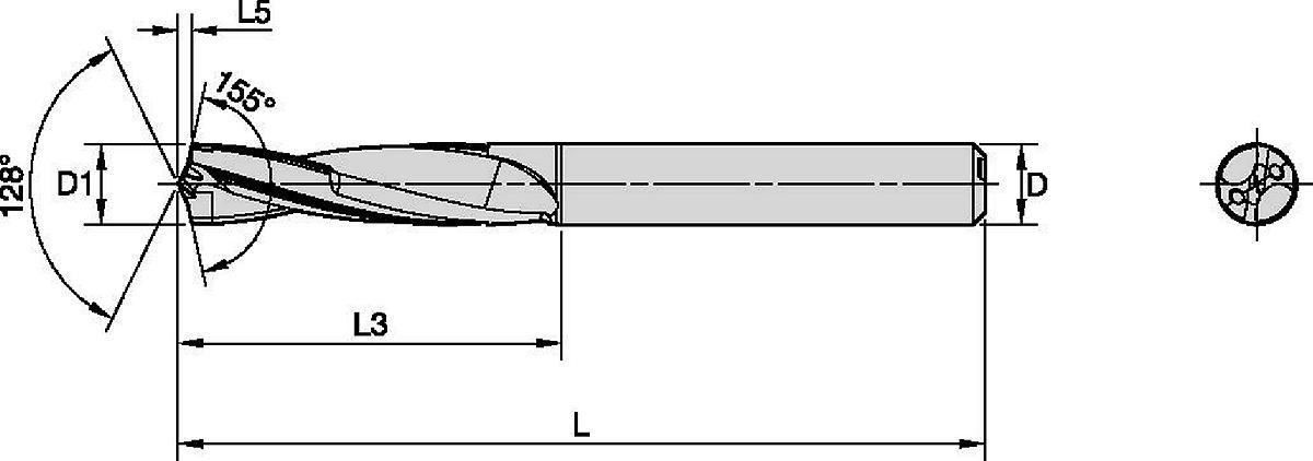HiPACS • DAL • B566 • 3 X D • INTERNAL COOLANT