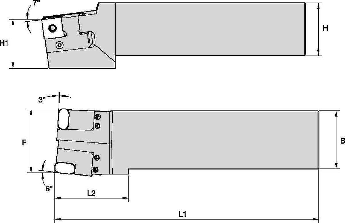 Railway Toolholder • Wheel Turning Lathe