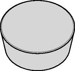 Ceramic Inserts for KIPR - RP • KSSR - RP