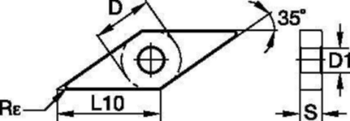 ISO/ANSI Hartmetall-Wendeschneidplatten