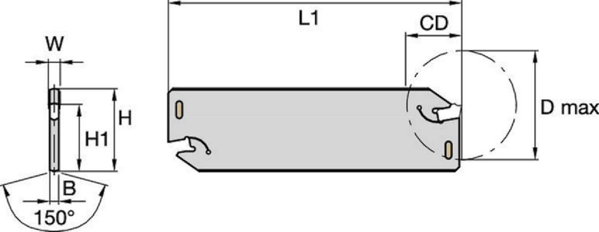 A2™ Cut-Off Blades