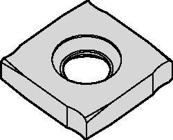 Płytki do frezów do rowków 90° SN • SNHX-NGP