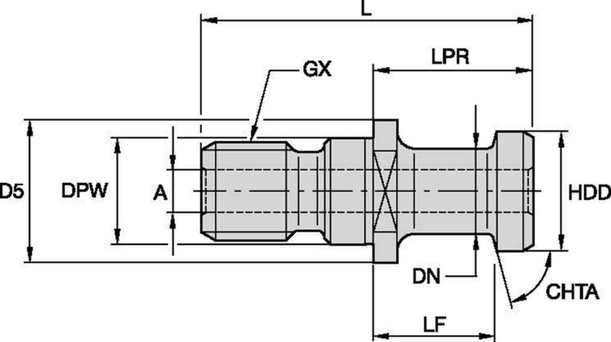 Retention Knobs ISO 7388/2 Type A Metric • Type B Metric