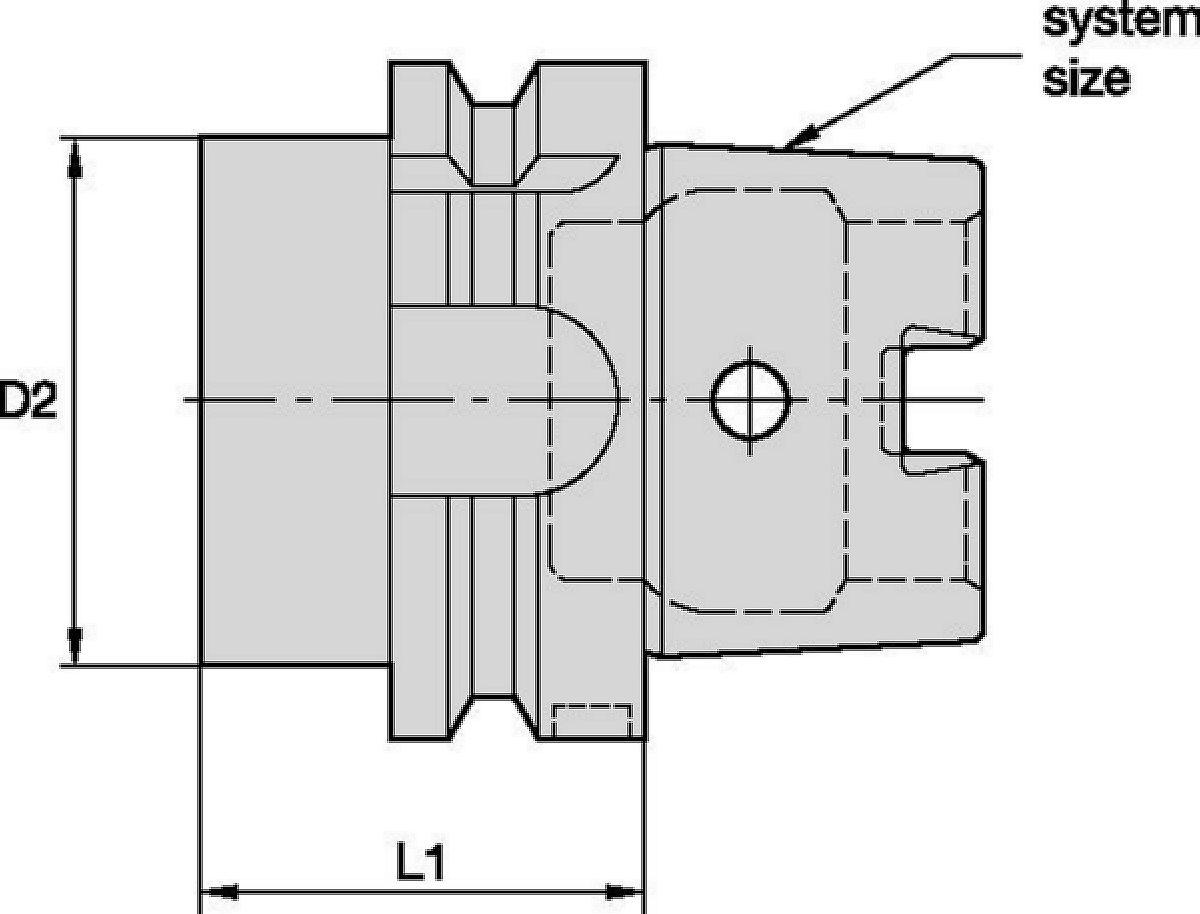 Tapón de husillo HSK