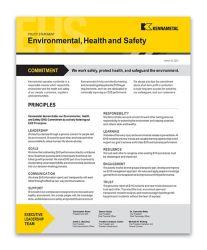 EHS policy statement