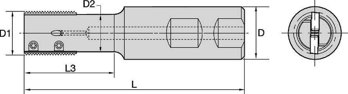 TM25 • Codolo Weldon® • Filetti cilindrici