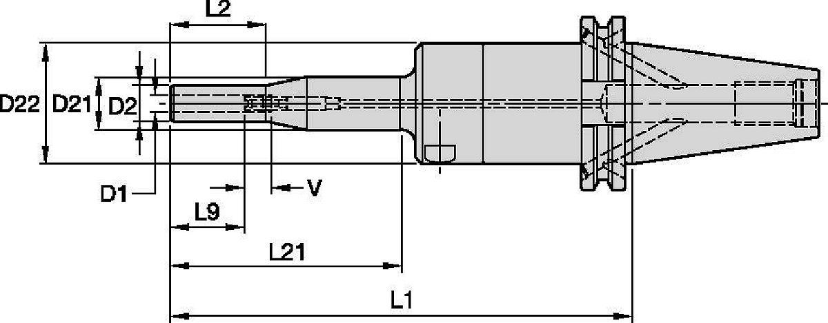 Mandrini idraulici Slim Line