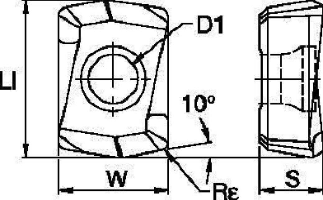 Drill Fix™ DFR™ • LD Inserts
