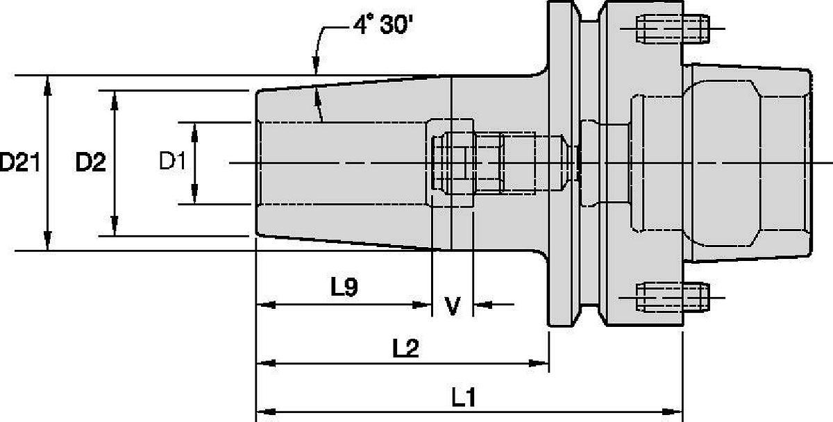 Shrink Fit Toolholders High Torque (HT)