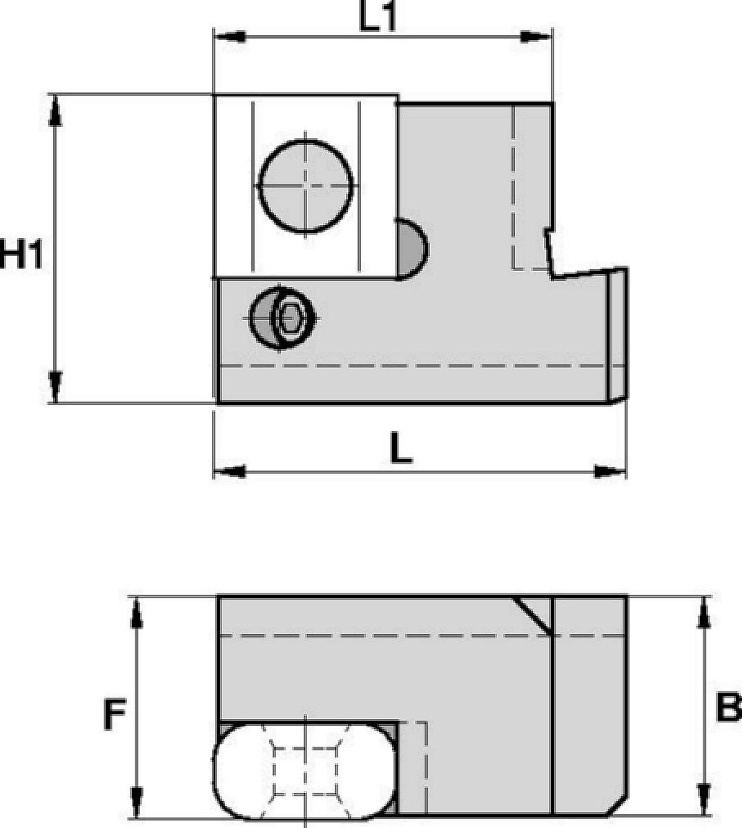 基本シャンクおよびカートリッジ • 輪軸の旋削加工