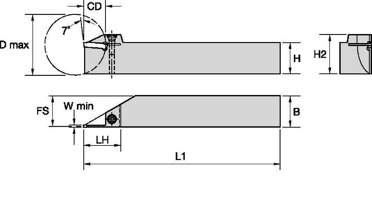Portautensili integrali A4™