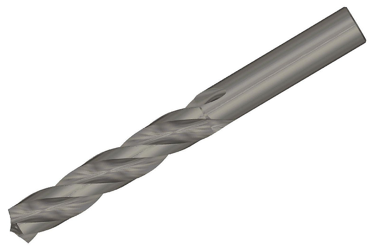 TOP DRILL T Triple Fluted • Non Ferrous Materials